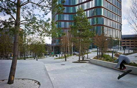seb bank lund sla landscape architecture beatiful landscape