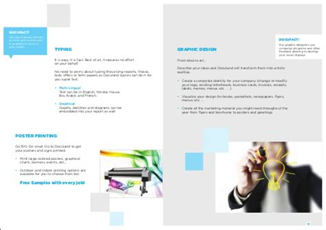 graphic design company profile sle company profile