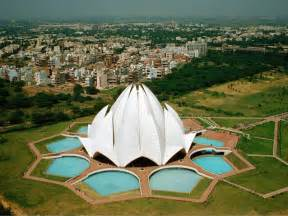 Bahai Lotus Temple Marvellous Baha I Temple Or Lotus Temple