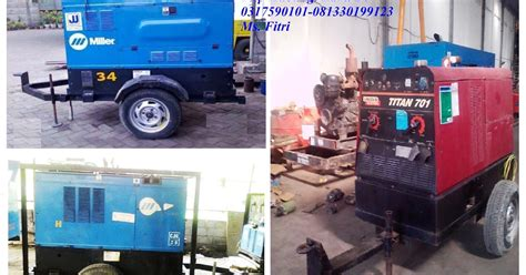 Mesin Las Merk Gmt rental genset mesin las rental mesin las 0317590101 081330199123 fitri