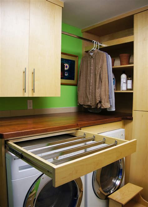 Pull Out Clothes Drying Rack by Drying Rack Pull Out Laundry Room