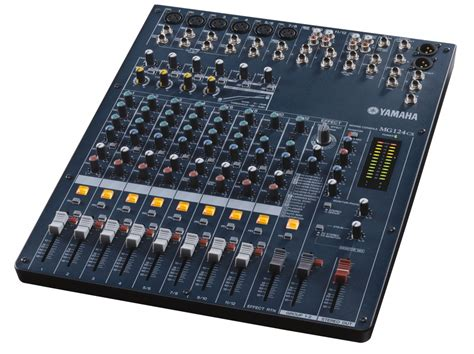 Li Mixer Yamaha Mg 124 Cx 12 Channel yamaha mg 124 cx mixer