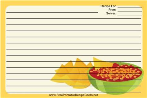 salsa recipe card template 298 best images about recipe cards on