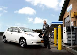 Electric Vehicle Charging Stations New York State N Y Power Authority Unveils The State S High Speed