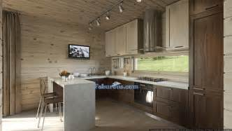 Walnut Kitchen Designs by Modern Cutting Edge Room Design Ideas