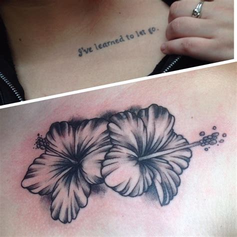 hibiscus flower tattoo small hawaiian flower tattoos flowers ideas for review
