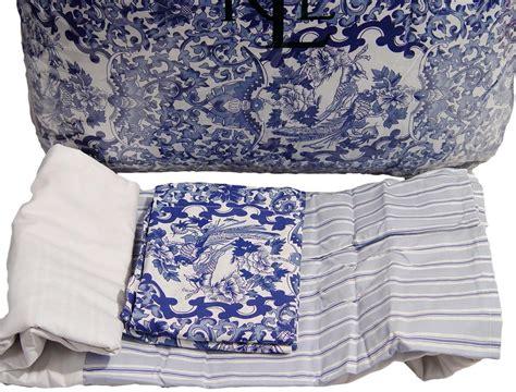 ralph lauren blue and white comforter set ralph lauren porcelain blue full queen comforter shams