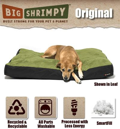 big shrimpy dog bed big shrimpy original dog bed