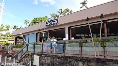 Sea House Restaurant Restaurants On Maui Lahaina Hawaii