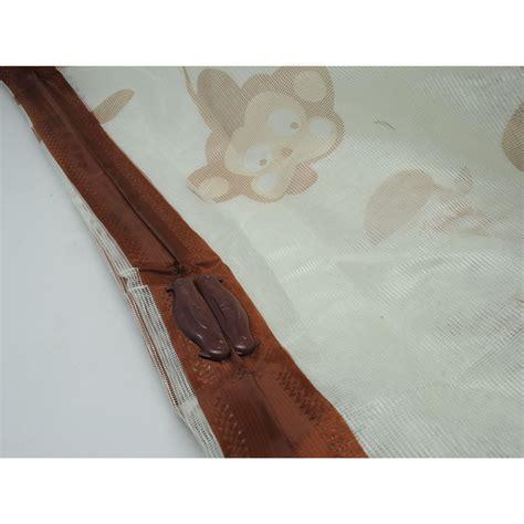 Tirai Nyamuk Tirai Pintu Magnetik tirai pintu magnetik anti nyamuk desain monkey brown