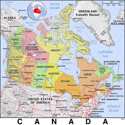 atlas map of usa and canada canada country map new zone