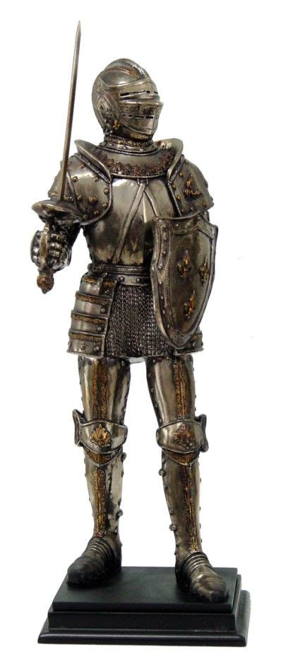 Sword Warrior Pvc Statue image detail for warrior armored w helmet sword sheild figurine statue