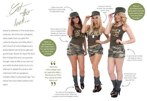 Army ladies meet themes