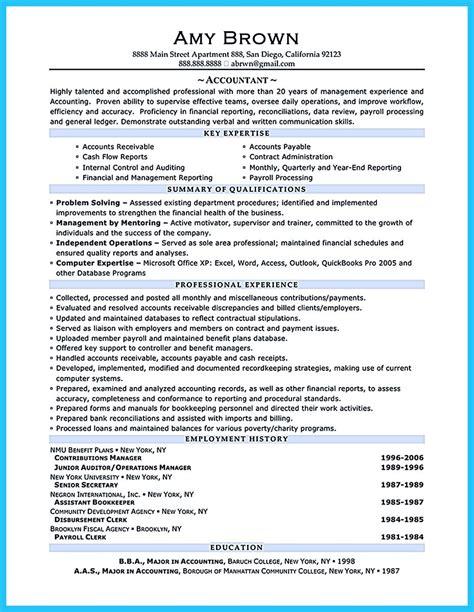 Auditor Description For Resume