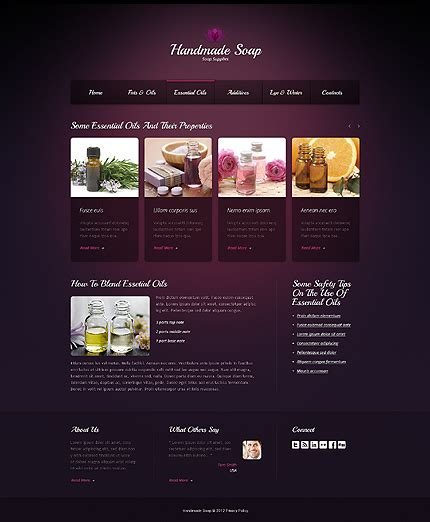 Crafts Website Template 40102 And Craft Website Templates