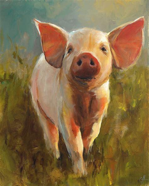 cari art pig painting cari humphry