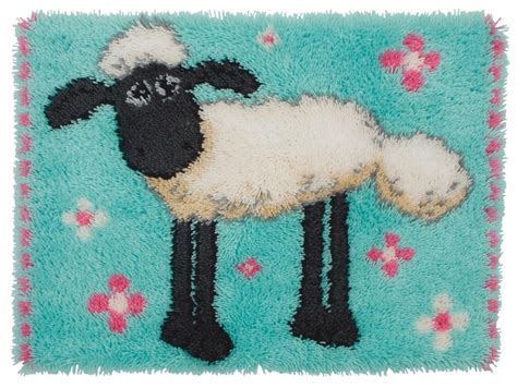 anchor rug kits shaun the sheep rug latch hook anchor ss00900