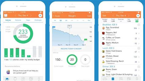 1 weight loss app best weight loss apps for your iphone