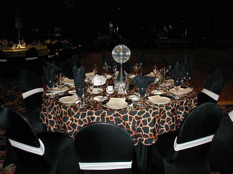 cheetah print theme posh design linen rentals wedding linen chair covers for