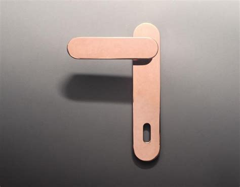 Modern Interior Door Handles by Modern Door Lever Handles Golden Modern Door Handle On