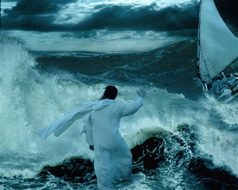 my god walks on water don t be afraid it s me god matthew 14 22 36