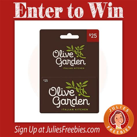 Olive Garden Sweepstakes 2017 - take your sweetheart out for free movies date night sweepstakes julie s freebies