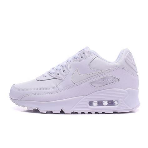 nike air max 90 all white sneakers shoes sale