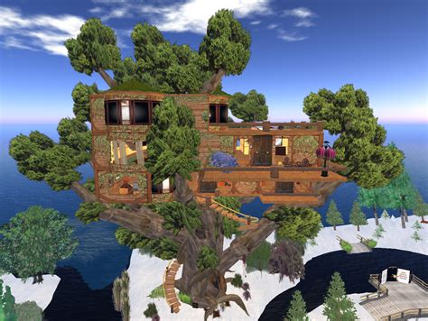 best treehouse the best treehouse i ve ever seen sweet second life