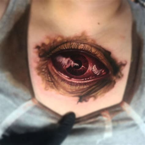 eyeball tattoo on neck monster eye tattoo best tattoo ideas gallery