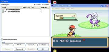 cheats pokemon fire red rare candy
