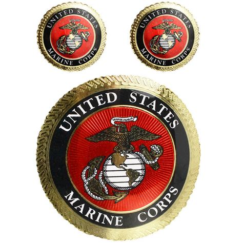 Usmc Marine Corps marine corps decal with gold foiling