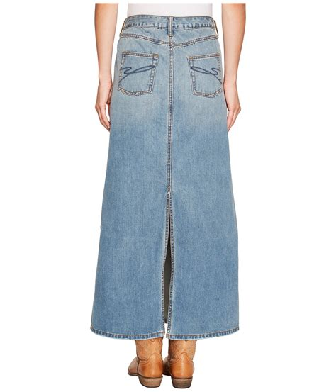 7 Best Jean Skirts For Back To School by Stetson Denim Skirt W Back Slit Blue Zappos