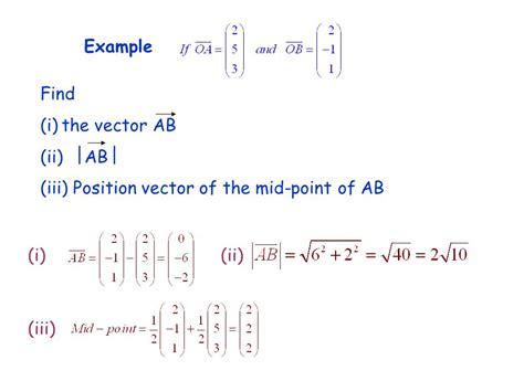Find Alberta Vectors The Modulus Of A Vector Is Its Magnitude Ppt