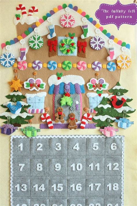 pattern for felt nativity advent calendar 25 best ideas about felt advent calendar on pinterest