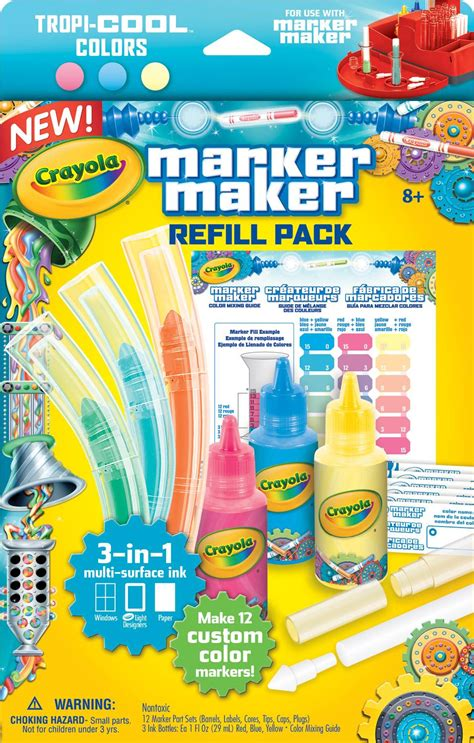 crayola marker maker refill pastel colors toys
