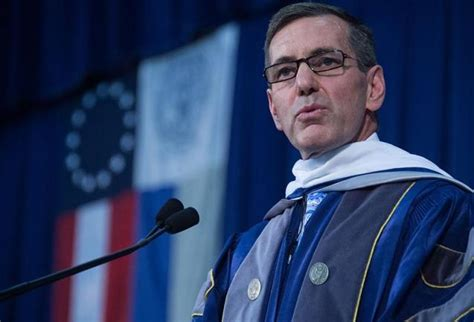 Georgetown Mba Address by Broussard Encourages Work Balance Care For Others At