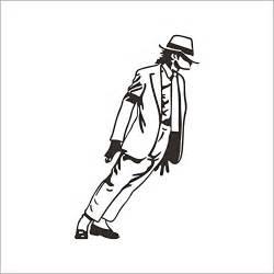 Funnie Wall Décor Stickers - Superstar Michael Jackson Moonwalk Dance ... U Coloring Page