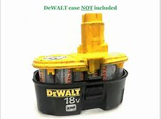 DeWALT 18V XRP DC9096 Battery Replacement Internals ... 18v Dewalt Battery Replacement