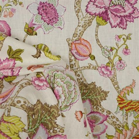 fabric home decor fabric jacobean floral fabric 1 by malawi hibiscus jacobean floral fabric traditional