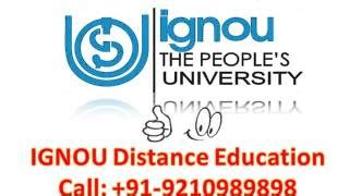 Ignou Distance Learning Courses Mba by 1 Year Education Masters Programs Alot