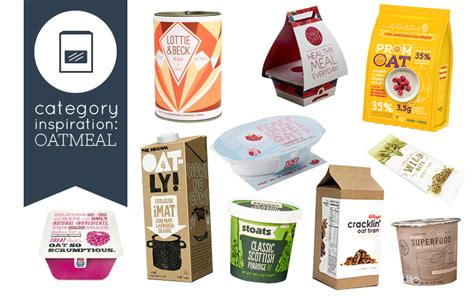 Oatmeal Kemasan oat product packaging design inspiration interact