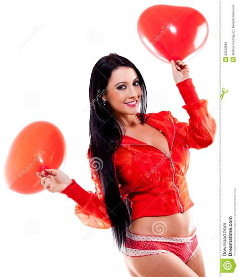 valentines surprises for valentines day stock image image of