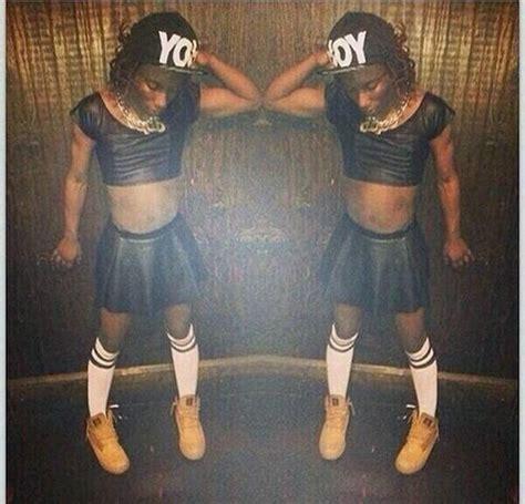 Photo of himself dressed in drag on social media obnoxioustv s blog