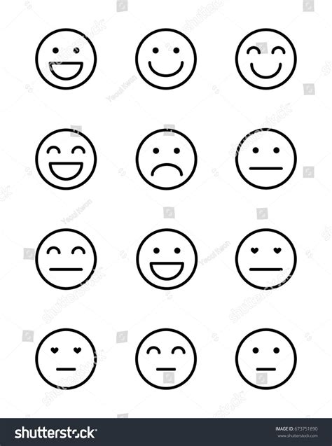 facesfaces smiley face images creative infographic vector pattern