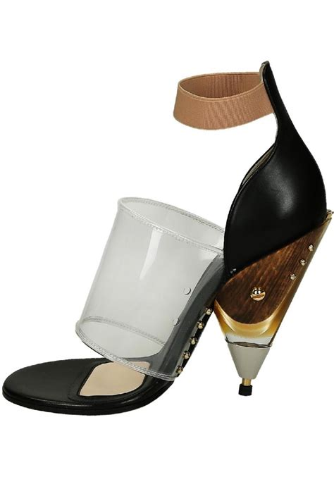 Givenchy Stilla Heels Vic3136 1 givenchy block high heel sandals in black calf leather italian boutique