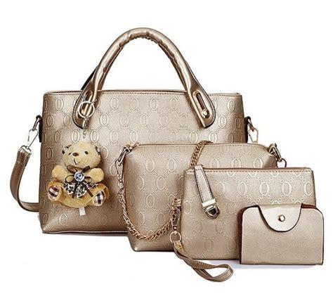 Tas Korea Gold Motif vicria tas branded wanita korean style high quality bag