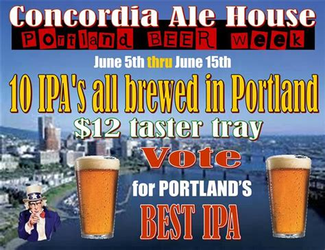 concordia ale house vote for your favorite portland ipa at concordia ale house