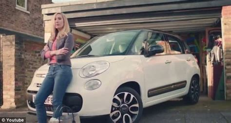 commercial girl rapping in car in the motherhood car advert rap goes viral on youtube