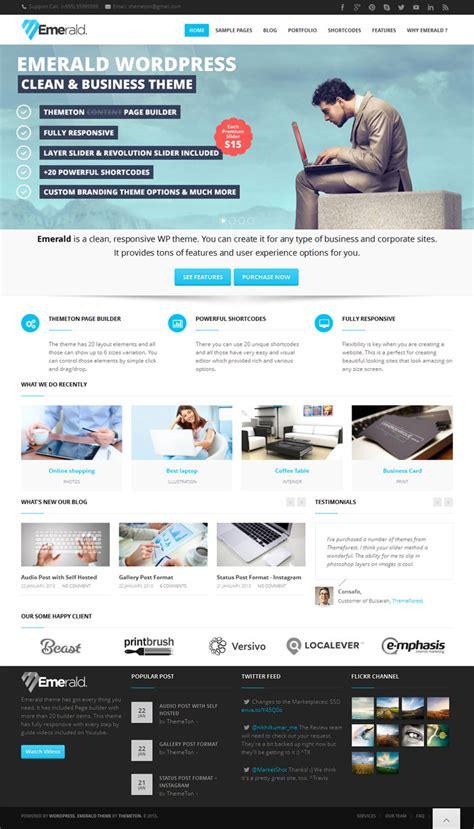 Themeforest Gfx | 45 best flat responsive design wordpress themes
