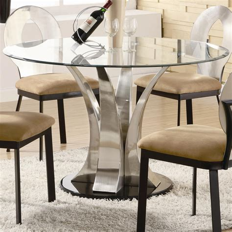 Dining Room Chairs For Glass Table Glass Dining Table For 6
